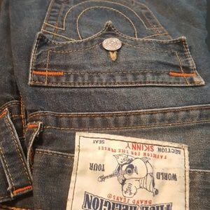 Skinny true religion jeans size 27